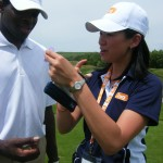 Natalie Cheng-Kai-On at the Joe Carter and Friends Celebrity Golf Tournament