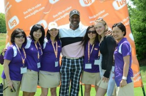 Joe Carter, host of the Golf Tournament